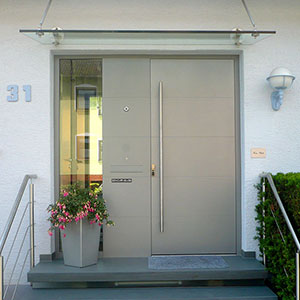 Eingangstüren modern  Innovativ - Modern - Hochwertig - Metallbau Beilmann GmbH ...