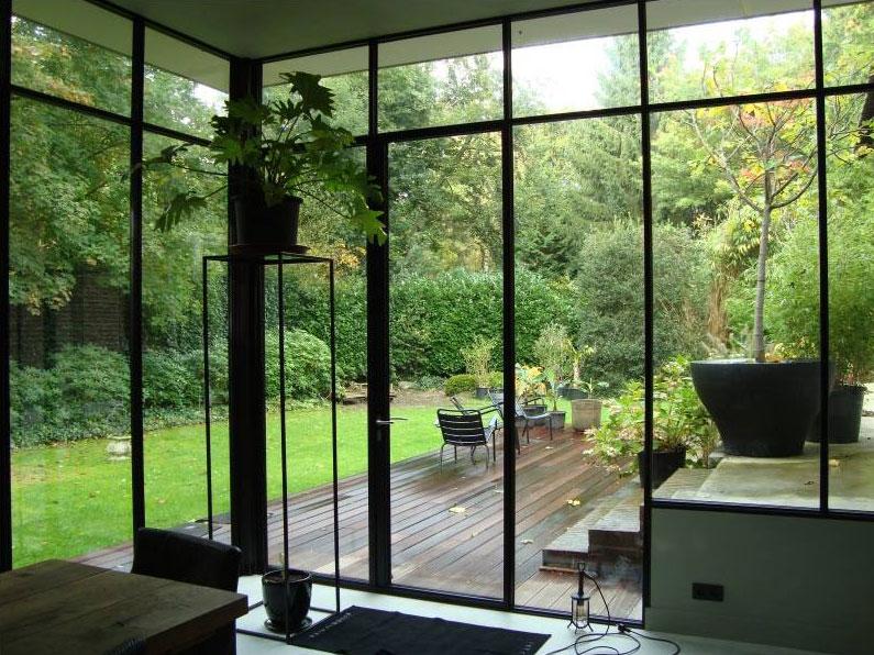glazen deur staal Keuken Metkookeiland com