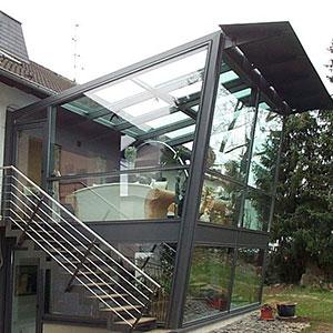 Keller Wintergarten innovativ modern hochwertig metallbau beilmann gmbh